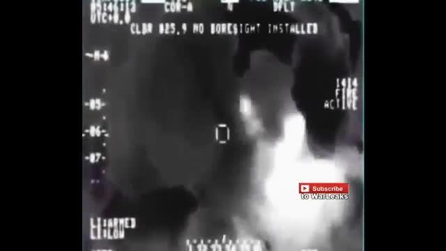 حمله نیروی هوایی عراق به تروریست های داعشی
