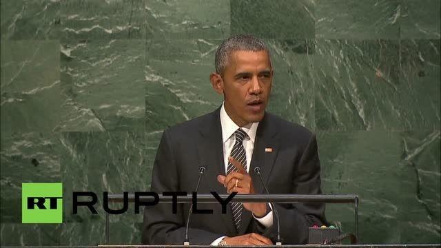 اوباما و درخواست همکاری همه کشورها