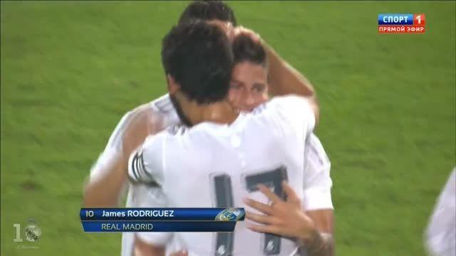 گل های بازی : رئال مادرید 3 - 0 اینترمیلان (دوستانه)