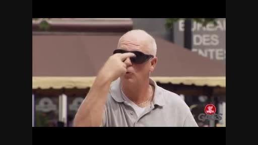 کلیپ بی نهایت خنده دار دوربین مخفی توب بازی نابینایان