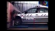 ویژه:تست تصادف سمند در برابر یک خودروی چینی.