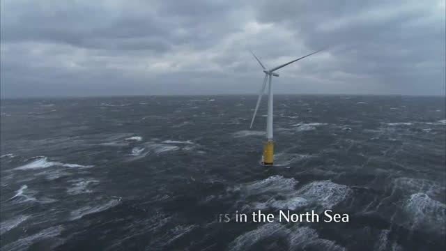 ساخت مزرعه بادی شناور در سواحل اسکاتلند