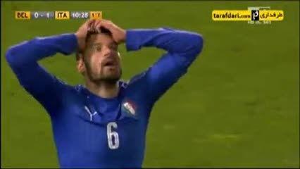 شکست سنگین ایتالیا برابر بلژیک -پورتال امروز آنلاین