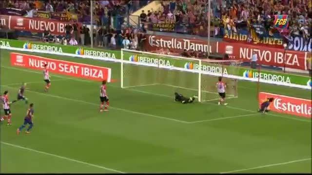 گل های لیونل مسی در فینال جام حذفی