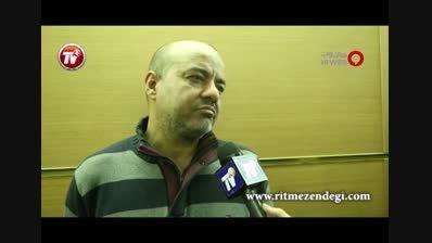 خداحافظی ساره بیات و سعید آقاخانی/جشنواره فیلم فجر