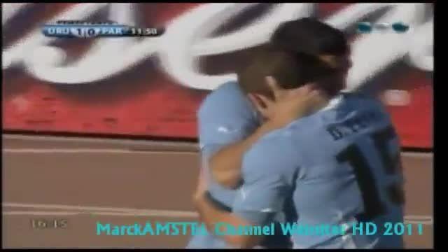 فینال کوپا آمریکا 2011: اروگوئه 3-0 پاراگوئه