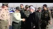 بادیگاردهای خفن رئیس جمهور روحانی
