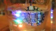 استفاده از اسپری پلاستیک برای ضد آب کردن بردهای الکترونیکی