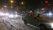 بارش برف زمستانی در نیمه دوم ماه اول زمستان-شبستر
