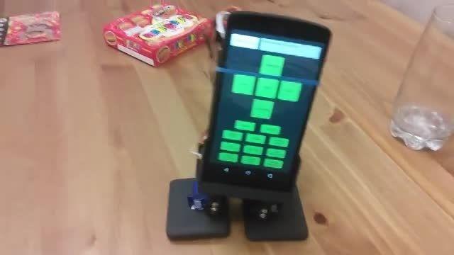 mobbot ربات قابل کنترل با گوشی های هوشمند