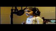 هانا الماسی دختر بچه کرمانشاهی سرودی برای مردم کوبانی