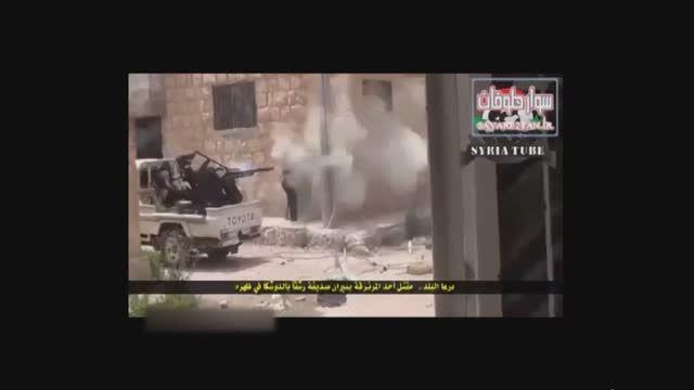 اشتباه تروریست ها در کشتن سرباز خود