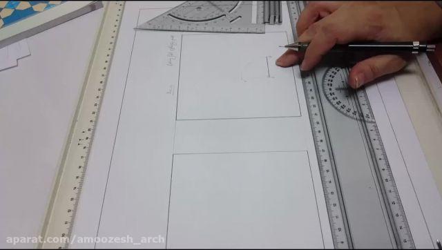 ترسیم پنج ضلعی با طول ضلع مشخص