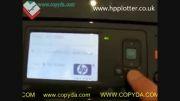 تعویض هد در سری  HP T770