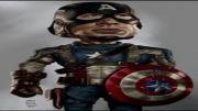 کاریکاتور قهرمانان قسمت 17 (فیلم کاپیتان آمریکا)