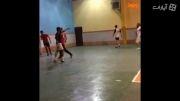 فوتبال سالنی بازیکنان پرسپولیس با تتلو