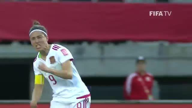 بازی:اسپانیا 1-2 کره جنوبی (جام جهانی زنان 2015 کانادا)