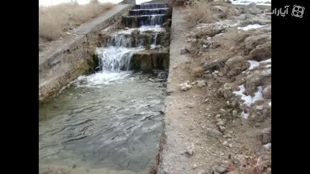 چشمه آب درمانی (چشمه آب کربنات) شهر گل تپه کبودراهنگ