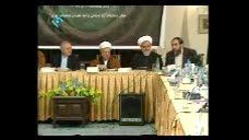 صحبت آقای رحیم پور در حضور آیت الله هاشمی