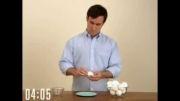 راحت ترین راه کندن پوست تخم مرغ