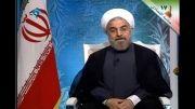 تیکه روحانی به احمدی نژاد