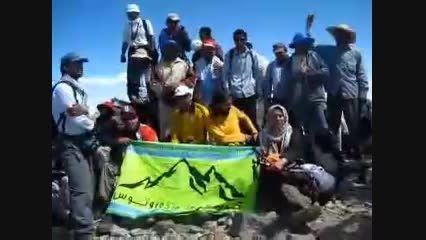 صعود کشوری به قله دالانکوه