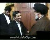 دیدار احمدی نژاد با نصرالله