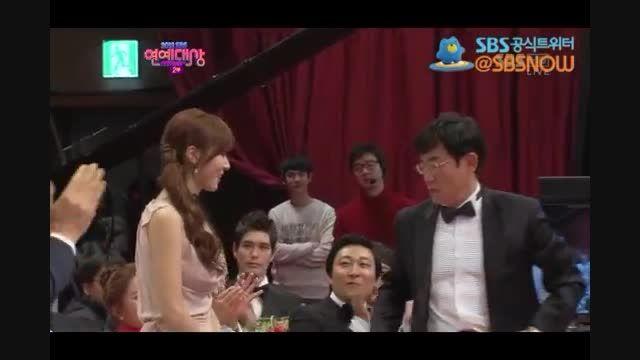 گل دادن طرفدارای سوسانو به سوسانو  در SBS