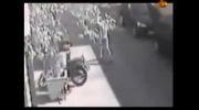 دزدیدن یک پراید توسط سارق حرفه ای در 10 ثانیه