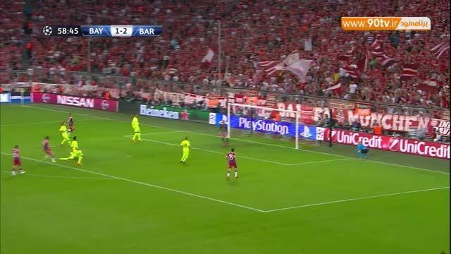 گل دوم بایرن مونیخ به بارسلونا (لواندوفسکی) - HD