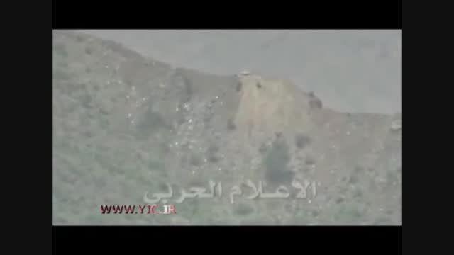 انهدام خودروی نظامی سعودی در مرز یمن