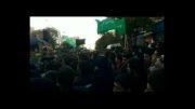 حسین عینی فرد .دسته حیدریون زنجان محرم93.نم نم بارونه