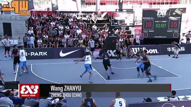 ۱۰ بازی برتر بسکتبال سه در سه پکن ۲۰۱۵