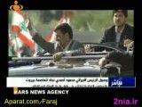 استقبال مردم لبنان از دکتر محمود احمدی نژاد