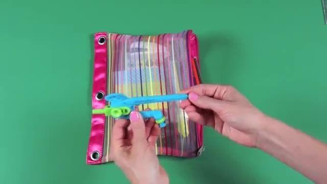 چگونه مداد رنگی هایمان را مرتب کنیم