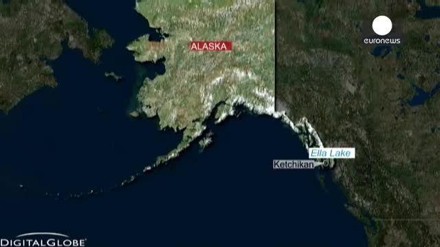 سقوط یک هواپیمای تفریحی در آلاسکا و مرگ تمامی سرنشینان