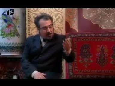 سکانس بابا شاه در حال کشیدن مونالیزا - قهوه تلخ -55