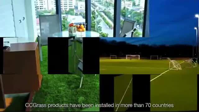 چمن مصنوعی CCGrass تنها چمن مصنوعی مورد تایید فیفا