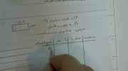 نمونه سوال امتحانی ریاضی هفتم - نوبت اول