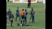 اخراج 12 بازیکن در یک بازی فوتبال توسط داور !