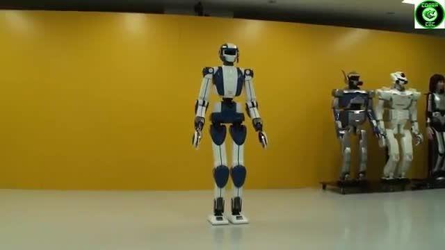 شگفت انگیزترین ربات انسان نمای 2015 - کافه ربات