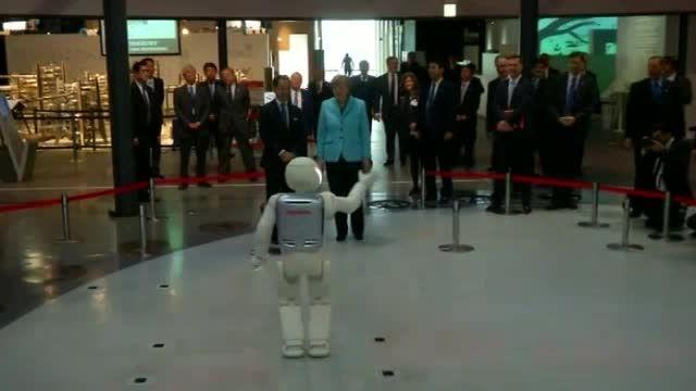 ورود روبات ها به ملاقات های سیاسی