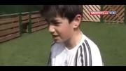 فوتبال زیدان با پسرانش جالب