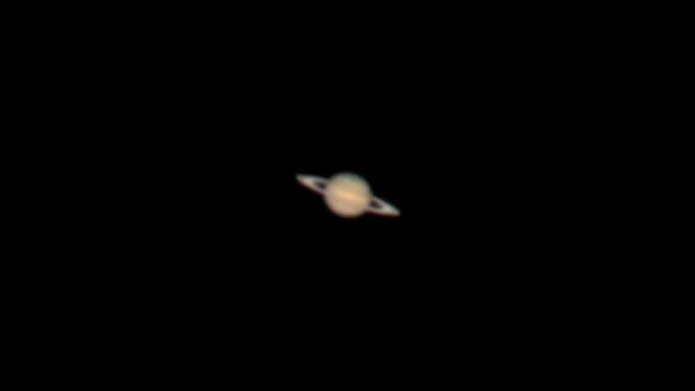 مشاهده سیاره زحل به وسیله تلسکوپ 16 اینچی