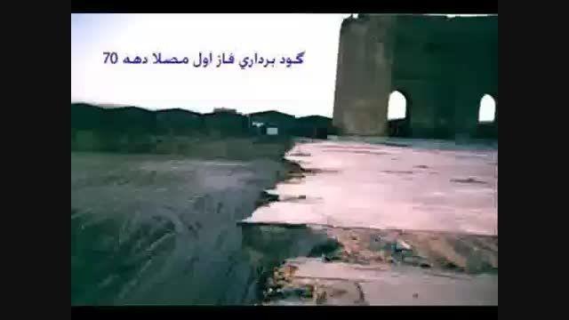 تخریب تدریجی ارک علیشاه تبریز دوره ایلخانی