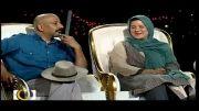امیر جعفری و همسرش در ماه عسل 92