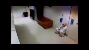 فرار زندانی واقعی . توسط دوربین زندان گرفته شده