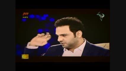 فحاشی مجری شبکه ماهواره ای من و تو به احسان علیخانی!