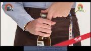 ۲۱ راه برای باز کردن در یک بطری