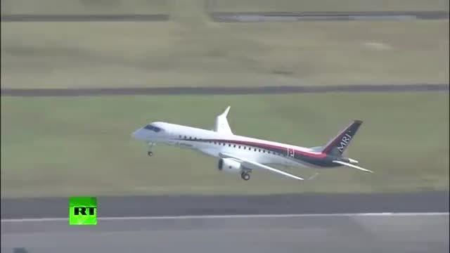اولین پرواز اولین هواپیمای مسافربری ساخت ژاپن - MRJ